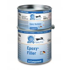Airo Nautic Universal Epoxid Spachtel 4,5 kg oder 3 Liter hellgrau 2:1