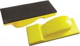Flacher Schleifklotz 70  x 198  mm Handschleifer Klett für Schleifstreifen Schleifpapier