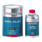 Troton 2K Acryl Füller 3:1 NASS in NASS ANTICORROSION  1 Liter Set